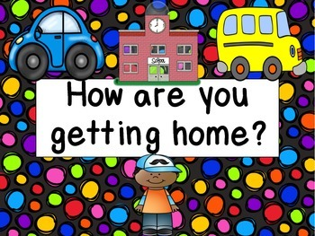 How are you getting home - displayable cards