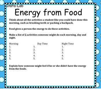 How can Energy Be Used?