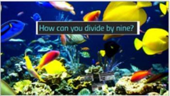Prezi presentation on how to divide by nine.