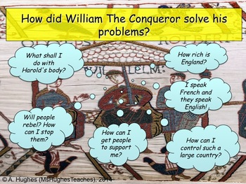 How did King William take control of England after the Bat