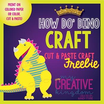 How do Dinosaurs Craft