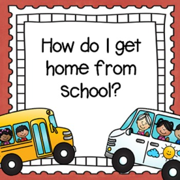 """""""How do I get Home From School?"""" After School Transportation Tags"""