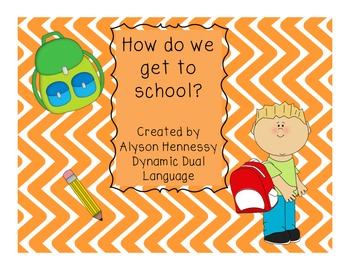 How do we go to school? A graphing activity in English and