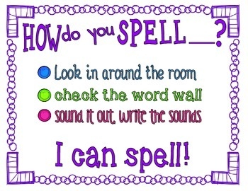 How do you spell....