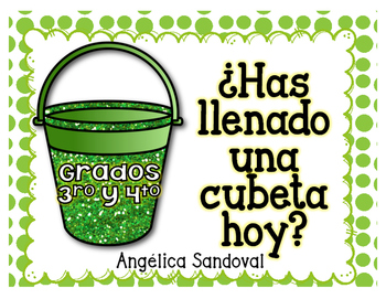 How full is your bucket in Spanish