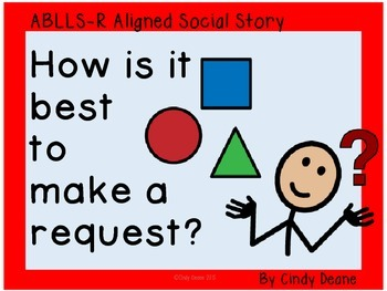 Social Stories for Autism: How is it best to make a request?