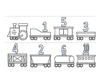My Number Train