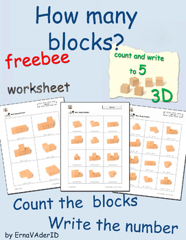 How many blocks? Count to 5