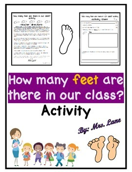How many feet are there in our class? Activity
