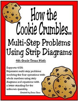 4th Grade Strip Diagrams: How the Cookie Crumbles...
