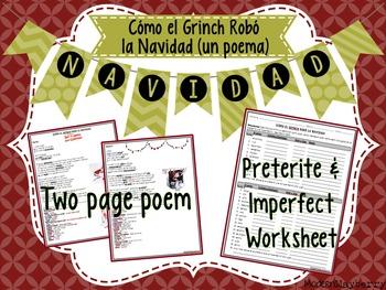 How the Grinch Stole Christmas Poem (Cómo el Grinch Robó l