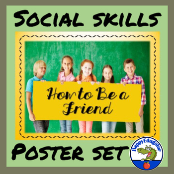 How to Be a Friend Poster Set