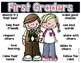 How to Be a Good First Grader Poster {freebie!}