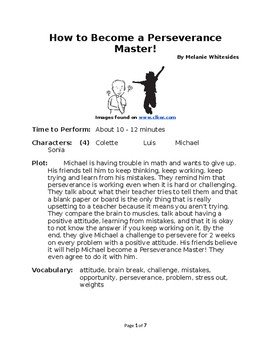 How to Become a Perseverance Master! - Small Group Reader'