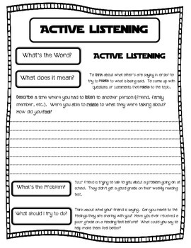 Become and Active Listener and Understand Active Listening