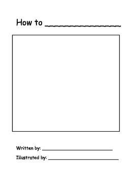 """How to"" Book Template"