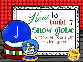 How to Build a Snow Globe, half note