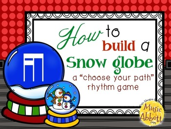 How to Build a Snow Globe, tika-ti/tiri-ti