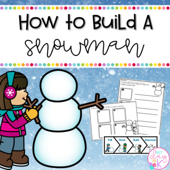 How to Writing-Build a Snowman Packet