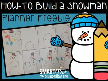 How to Build a Snowman (Planner Freebie)