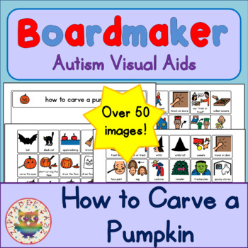How to Carve a Pumpkin and Trick or Treat Routine - ASD/Au