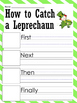 How to Catch a Leprechaun Writing Prompt and Leprechaun Fo
