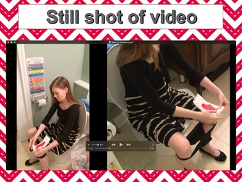 How to Change a Pad: Video Modeling for Girls (Autism Aspe