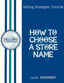 How to Choose a Store Name