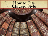 How to Cite Chicago Style PowerPoint and Worksheet