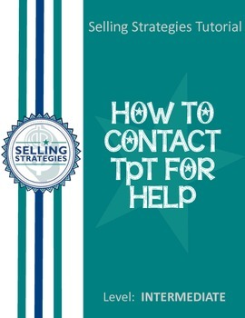 How to Contact TpT for Help and Support