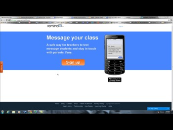 How to Create a Remind101 Account Teacher PD