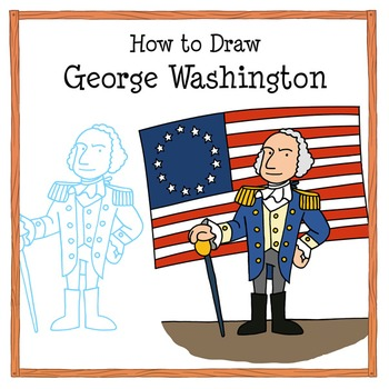 George Washington Drawing Tutorial: How to Draw the First
