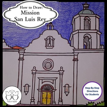 How to Draw Mission San Luis Rey
