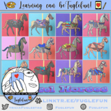 How to Draw a Carousel Horse Handout