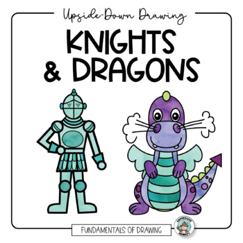How to Draw a Knight & Dragon: Upside-Down Drawing, Roll &