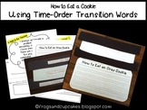 How to Eat a Cookie: Using Time-Order Transition Words