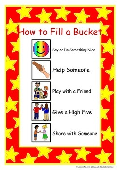 How to Fill a Bucket
