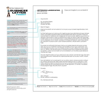How to Format a Letter in Business Letter Format