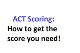 How to Get Top Scores on the ACT