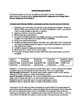 How to Grade Participation