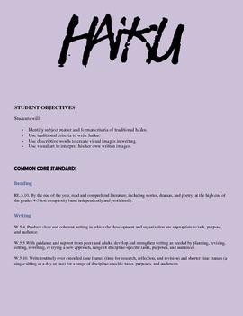 How to Haiku!