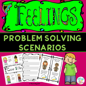 How To Handle My Feelings Activity Packet {Low Prep}