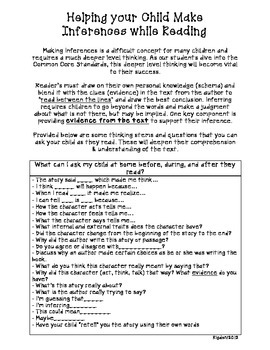 How to Help Your Child Make Inferences at Home