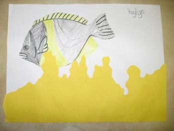 How to Hide an Octopus Butterfly Fish color cut and paste