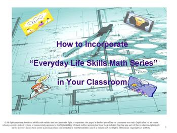 How to Incorporate the Everyday Life Skills Series in Your