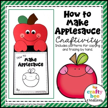 How to Make Applesauce Craftivity