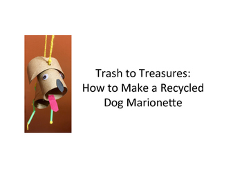 How to Make Dog Marionettes