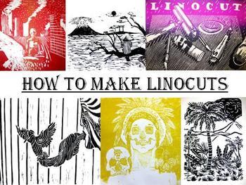 How to Make Linocuts... Linoleum Printmaking