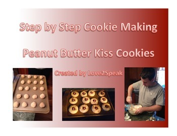 How to Make Peanut Butter Kiss Cookies - Sequencing - Real Pics