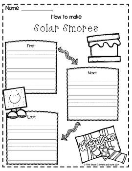 How to Make Solar Smores {Freebie}